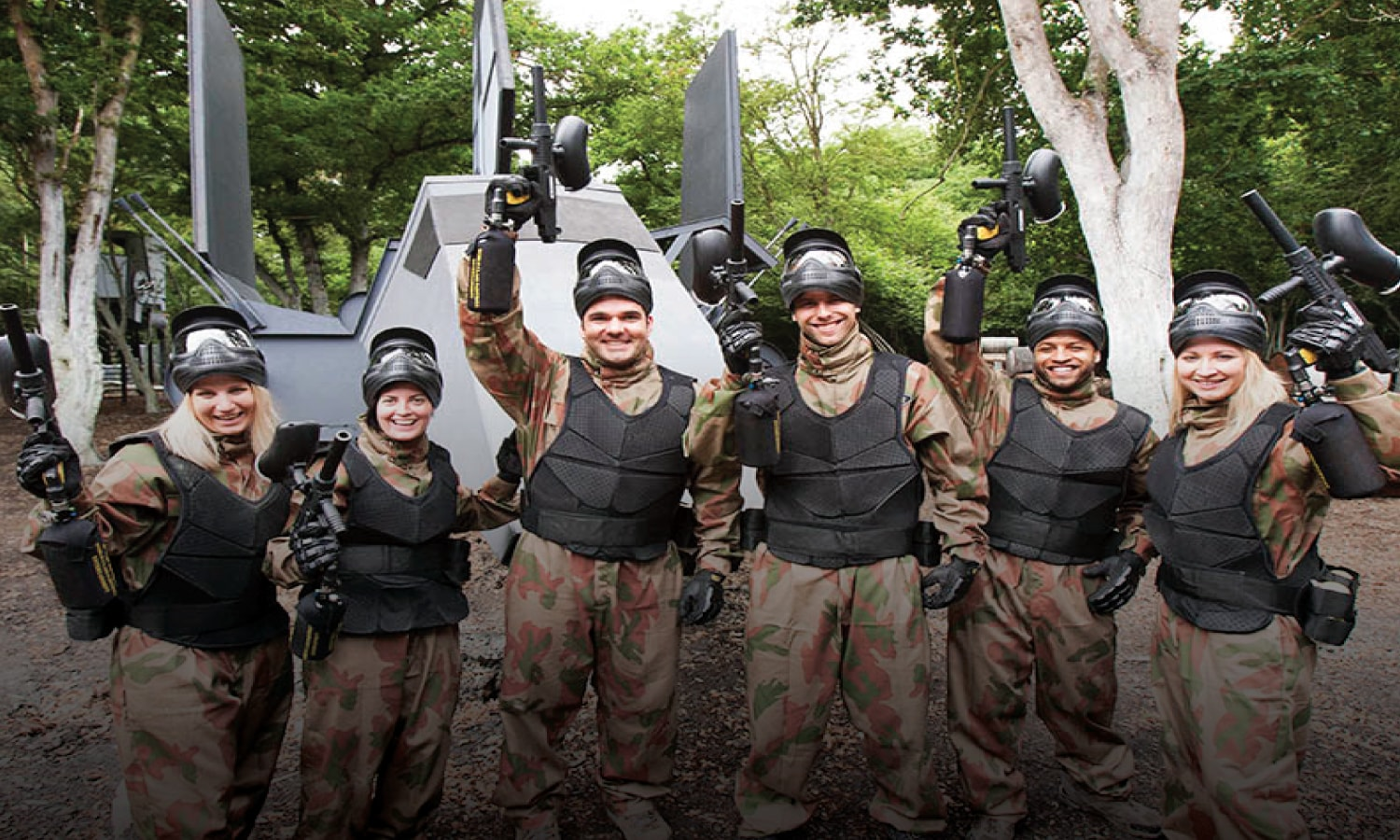 paintball crawley hosts party for shane richie & son