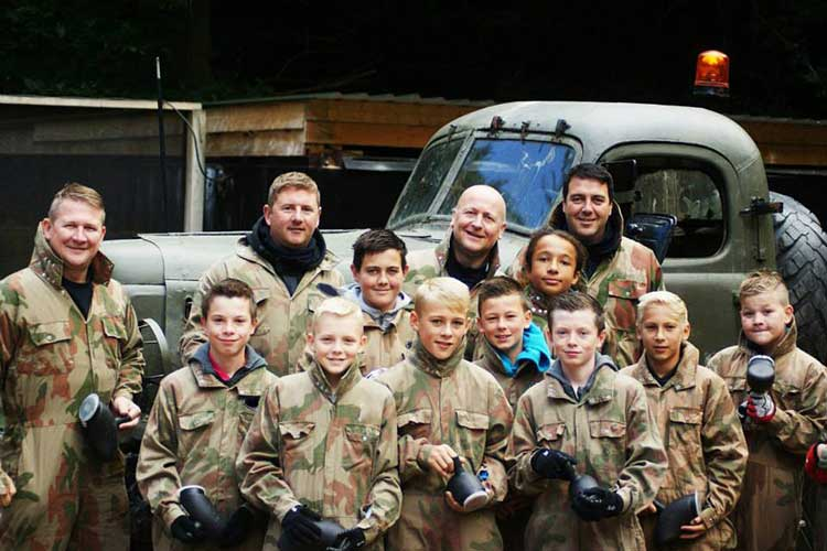 kids paintballing ipg