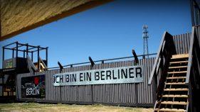 the berin wall